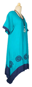 Spiral LAGENLOOK VISCOSE OVERSIZED DRESS SIZE 20-28
