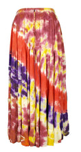Load image into Gallery viewer, Tie Dye Tiered Hippie Boho Long Maxi Skirt Size 10 12 14 16 18 20 22 24