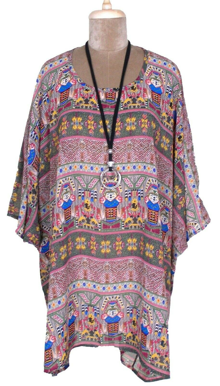 Sheer polyester kaftan one size 20 - 34