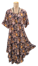 Load image into Gallery viewer, Boho Printed Viscose Tunic Size 18- 30 UM6