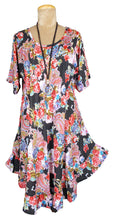 Load image into Gallery viewer, Boho Printed Viscose Tunic Size 18- 30 U11