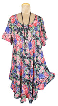 Load image into Gallery viewer, Boho Printed Viscose Tunic Size 18- 30 U13