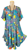 Load image into Gallery viewer, Boho Printed Viscose Tunic Size 18- 30 U4