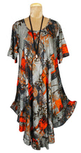 Load image into Gallery viewer, O Boho Printed Viscose Tunic Size 18- 30 U6