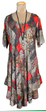 Load image into Gallery viewer, R Boho Printed Viscose Tunic Size 18- 30 U7