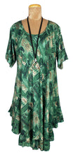 Load image into Gallery viewer, Boho Printed Viscose Tunic Size 18- 30 U8