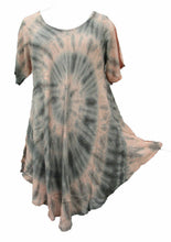 Load image into Gallery viewer, Tie Dye Tunic One Size  18 -28 U35
