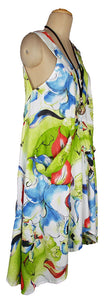 Hanky Hem Maxi Dress One Size 16-26 V1