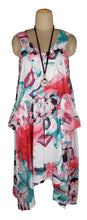 Load image into Gallery viewer, Hanky Hem Maxi Dress One Size 16-26 V5