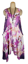 Load image into Gallery viewer, Hanky Hem Maxi Dress One Size 16-26 V6