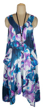Load image into Gallery viewer, Hanky Hem Maxi Dress One Size 16-26 V7