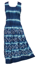 Load image into Gallery viewer, Viscose Tie Dye Maxi Dress UK  One Size 14-24 EM4
