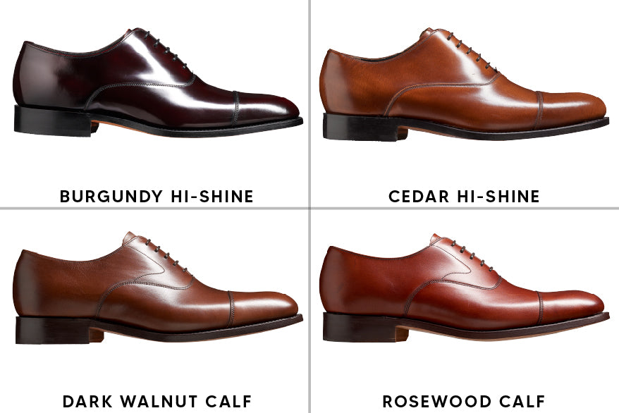 Shades Of Brown Leather Dress Shoes By Barker