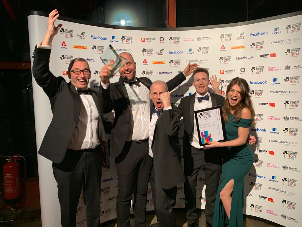 Barker Shoes wins British Chamber of Commerce award