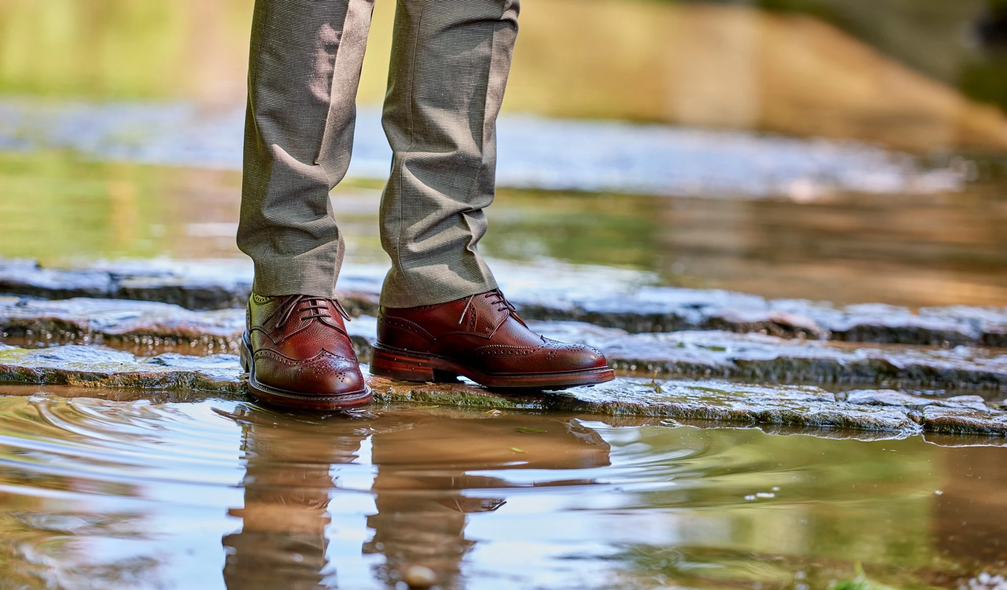 Derby shoes
