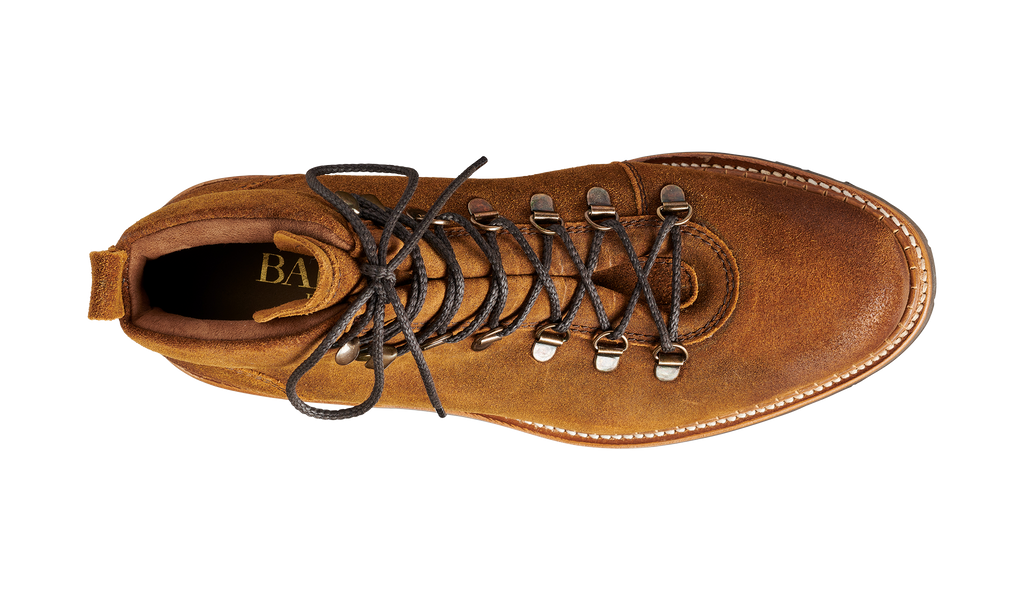 Glencoe - Tan Burnish Suede