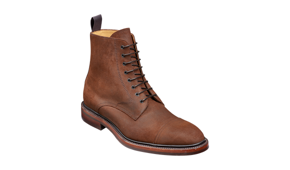 Lambourn 2 - Mid Brown Waxy Suede