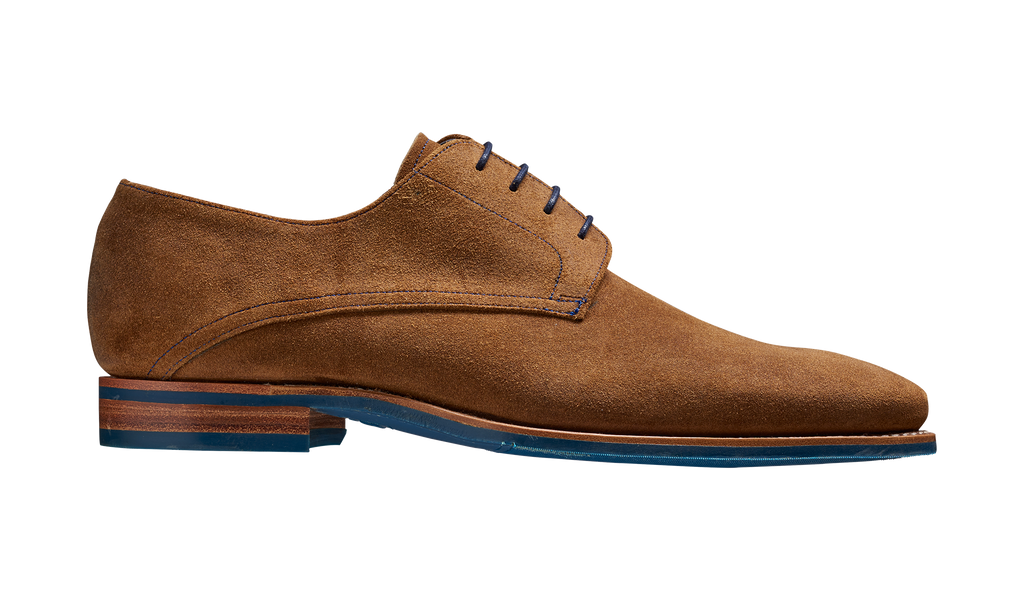 Max - Tan Burnished Suede