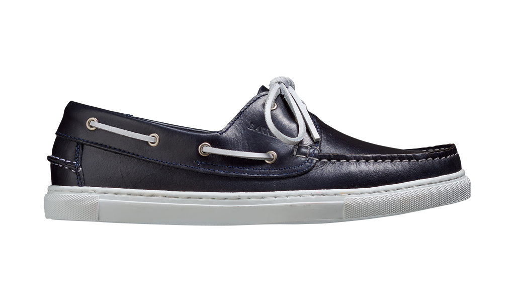Henri - Navy Pull-Up Calf