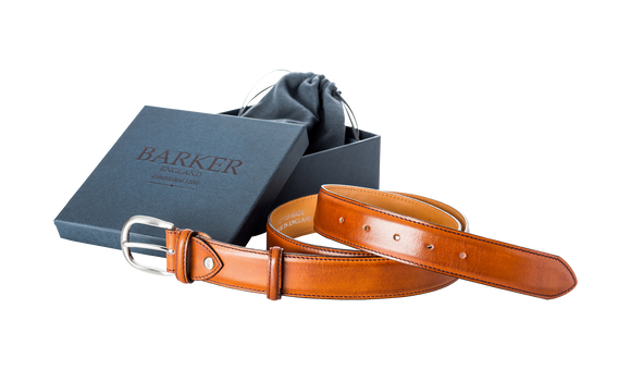 Plain Belt - Rosewood Calf