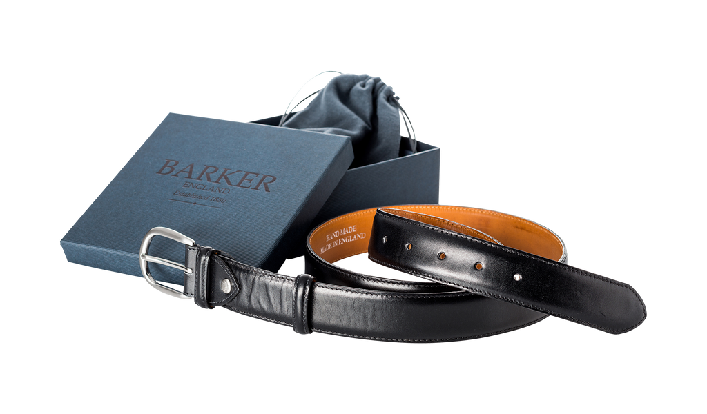 Plain Belt - Black Calf