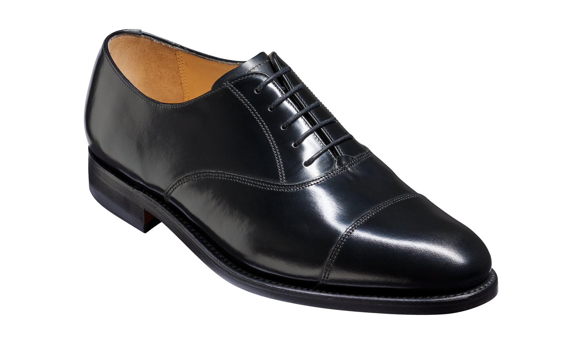Arnold - Men's Black Leather Oxford Shoes From Barker
