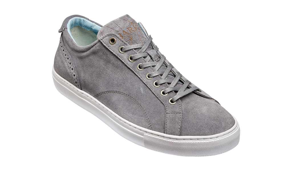 Axel - Grey Suede