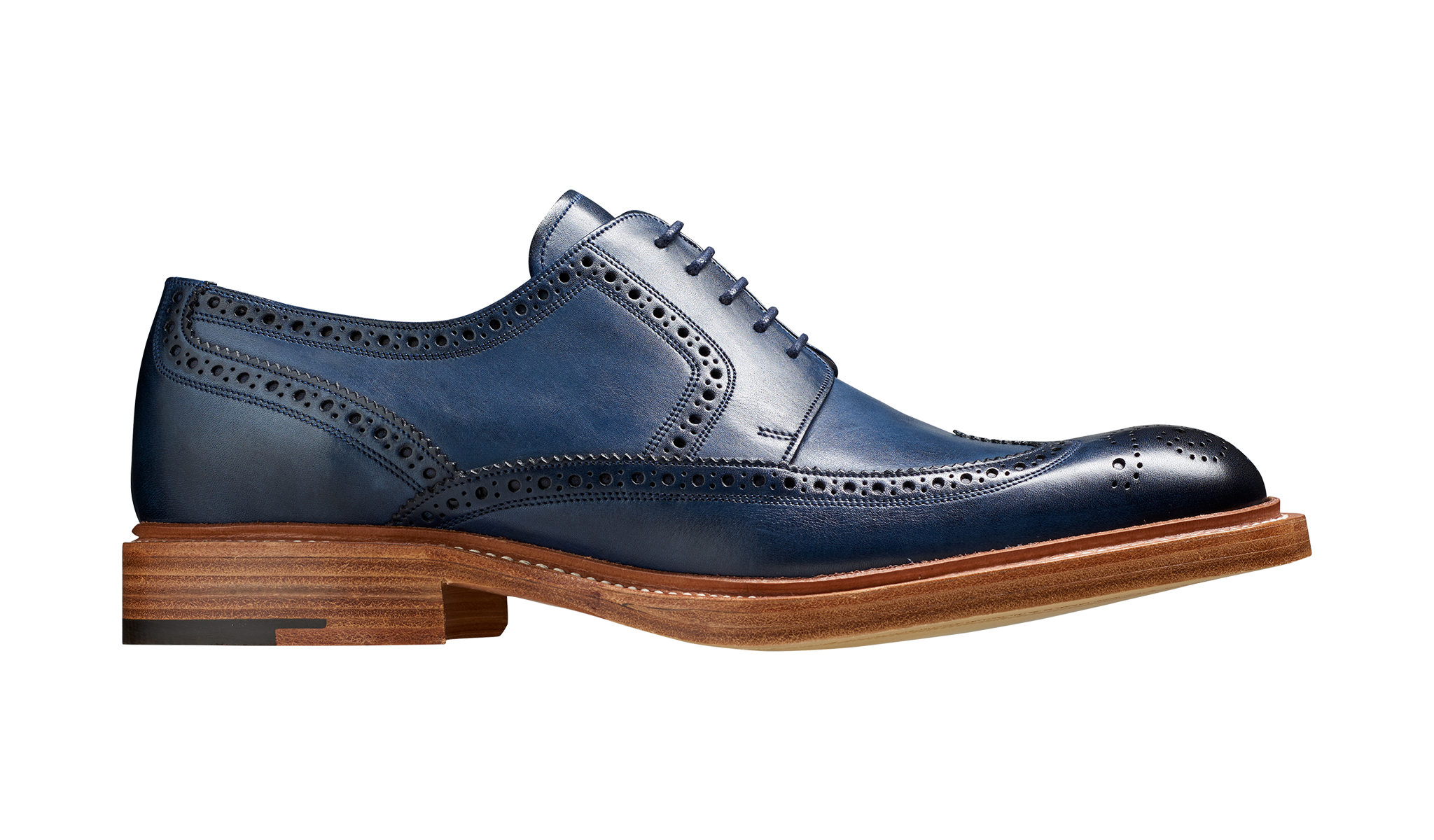 d96df3d47760c Bailey - Navy Hand Painted | Barker Shoes UK