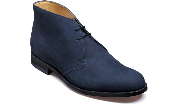 Connor - Navy Nubuck
