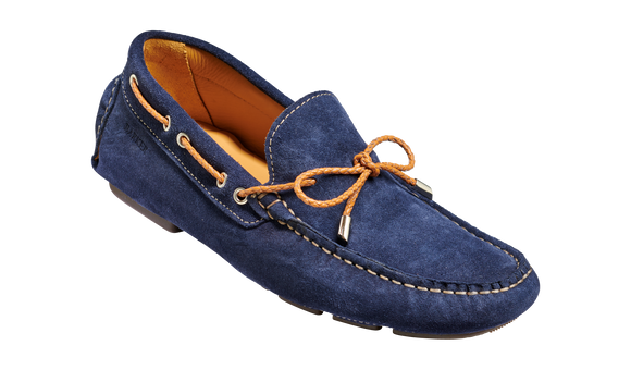 Doug - Navy Suede