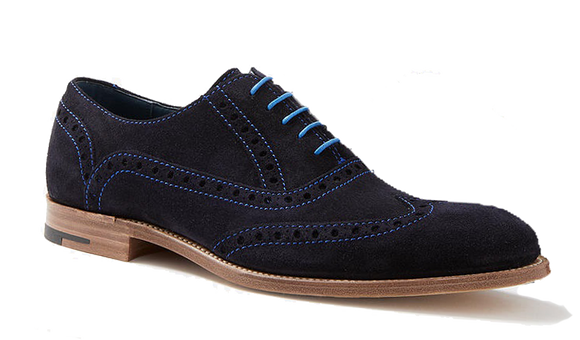 Grant - Air Force Blue Suede