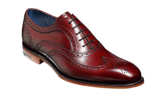 Jensen – Cherry Calf / Brown Welt