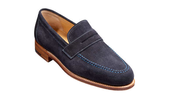 Jevington – Dark Navy Suede