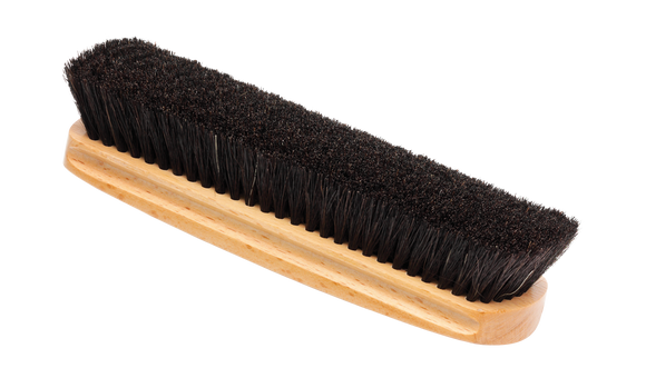 Large Horsehair Brush – Black