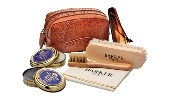 Shoe Care Kit - Cedar Grain