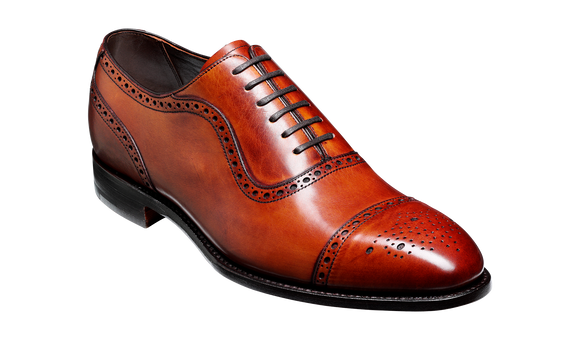 Warrington - Antique Rosewood Calf