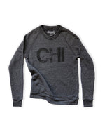 CHI Classic Sweatshirt- Charcoal and Black