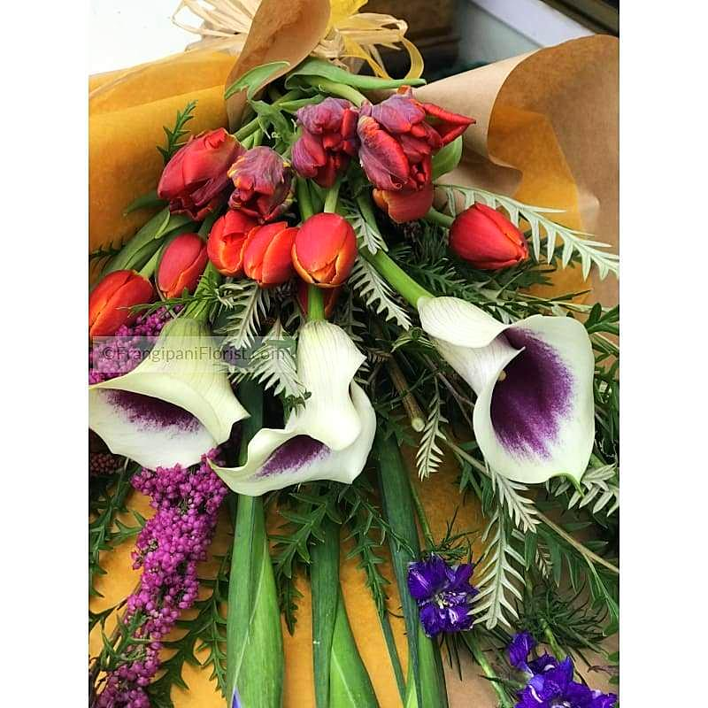 Picasso Handmade Fresh Flowers Bouquet