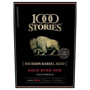 1000 Stories Gold Rush Red Bourbon Barrel Aged 2014