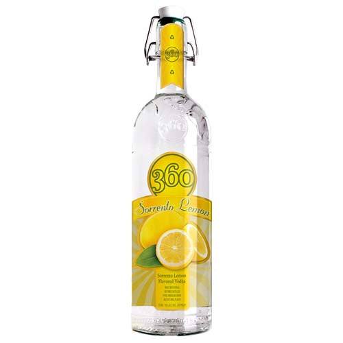 360 Vodka Sorrento Lemon