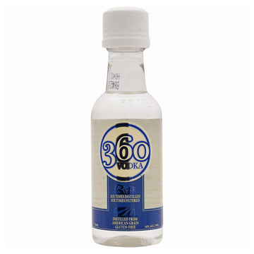360 Vodka 50ml - 10pk