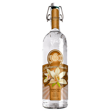 360 Madagascar Vanilla Flavored Vodka