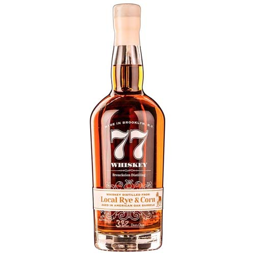 77 Whiskey - Local Rye & Corn