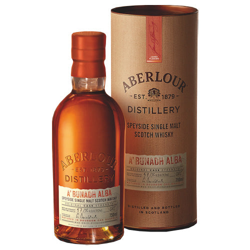 Aberlour A'bunadh Alba Single Malt Scotch