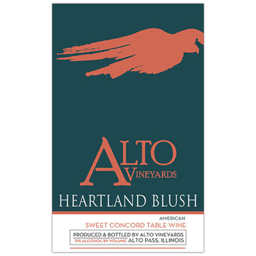 Alto Vineyards Heartland Blush