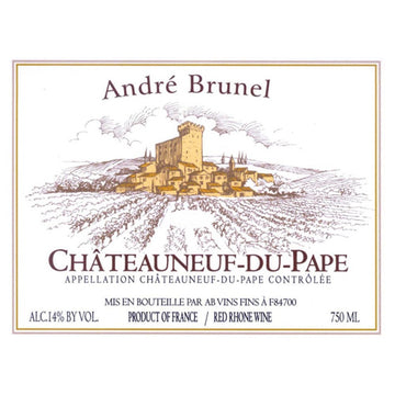 Andre Brunel Chateauneuf du Pape 2013
