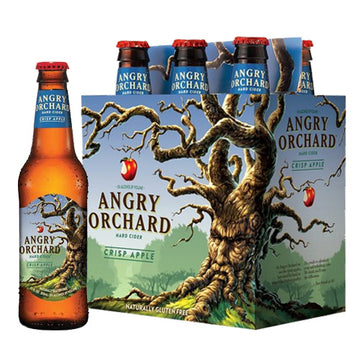 Angry Orchard Crisp Apple Cider 6pk/12oz Bottles