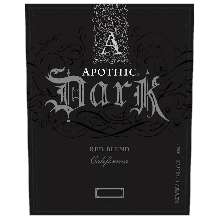Apothic Dark Red Blend 2017