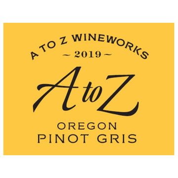 A to Z Wineworks Pinot Gris 2019