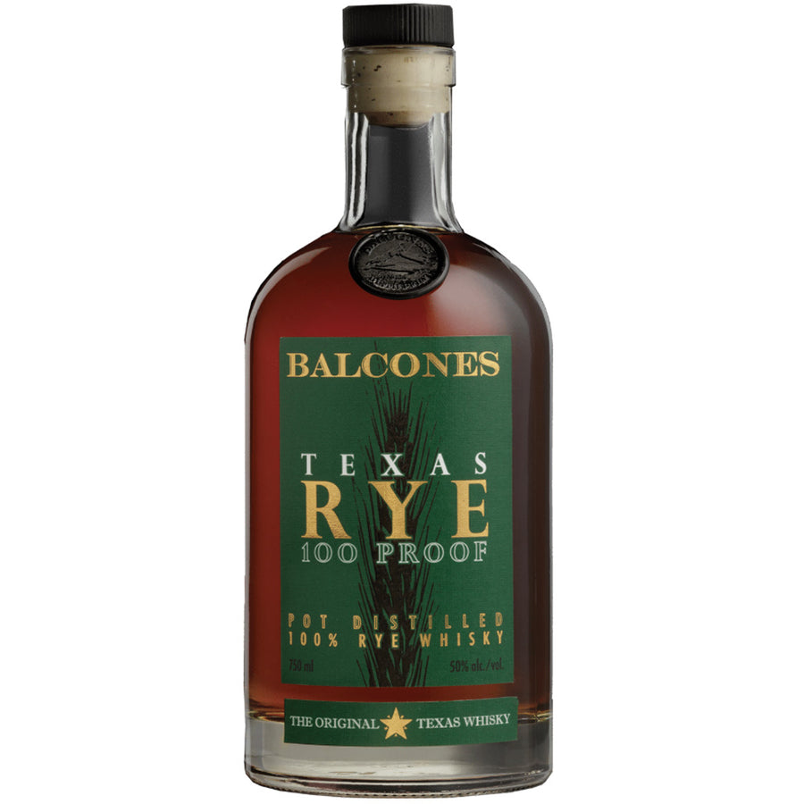 Balcones Texas Rye Whisky 100 Proof